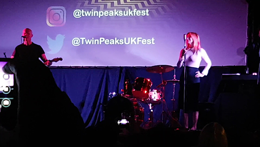 Amy Shiels and James Marshall 'Just You' at the Twin Peaks UK Festival