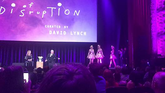 David Lynch Festival Disruption summary 2017