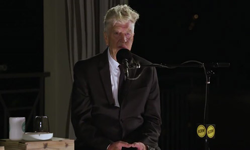 David Lynch in Morning Becomes Eclectic on KCRW 10 11 2017