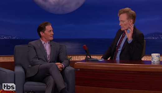 Fans Won't Stop Sending Kyle MacLachlan Coffee Content - CONAN on TBS