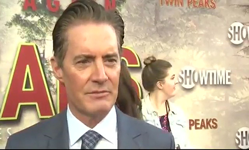 Hes my favorite character ever Kyle MacLachlan on Agent Cooper