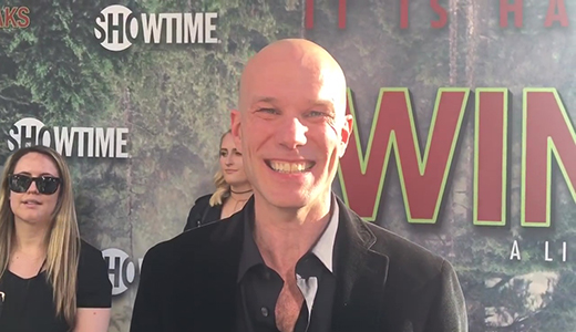 James Marshall chats top secret 'Twin Peaks' limited series on premiere red carpet