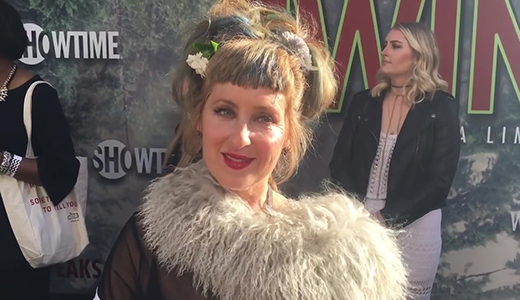 Kimmy Robertson chats top secret 'Twin Peaks' limited series on premiere red carpet