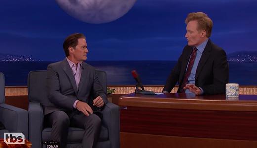 Kyle MacLachlan & Conan's '90s _SNL_ Memories - CONAN on TBS - 720p