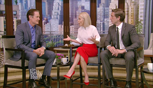 Kyle MacLachlan Live With Kelly and Ryan July 6 2017