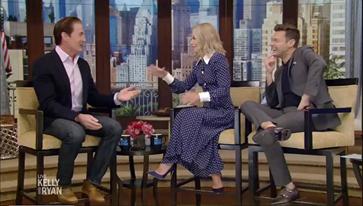 Kyle MacLachlan 'Twin Peaks' Interview Live with Kelly and Ryan