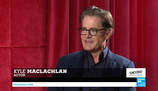 Kyle MacLachlan US actor talks fame and the legacy of Twin Peaks