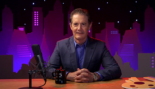 Kyle MacLachlan live on Facebook talking about Twin Peaks July 6 2017