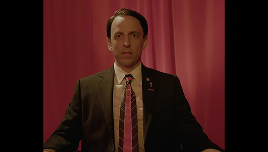 Late Night with Seth Meyers Twin Peaks Style
