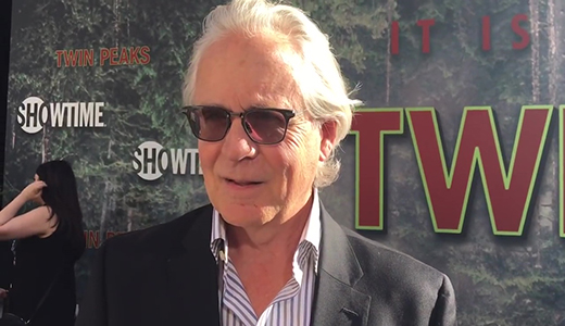Mark Frost chats top secret 'Twin Peaks' limited series on premiere red carpet