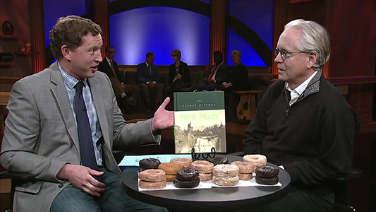 Mark Frost discusses The Secret History of Twin Peaks 1 2 PBS Twin Cities Almanac