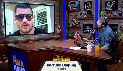 Michael Bisping will Fight Winner of Interim Title if 'GSP' Doesn't Man Up Before Saturday