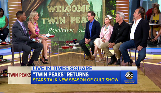 Original cast of Twin Peaks on secrecy of remake 27 years later - ABC News