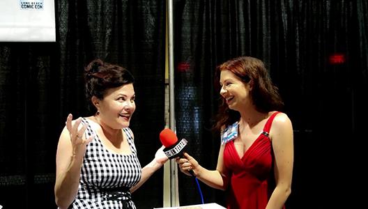 Pop Reality Ep 6 - Sherilyn Fenn talks Twin Peaks at Long Beach Comic Con 9-2-17