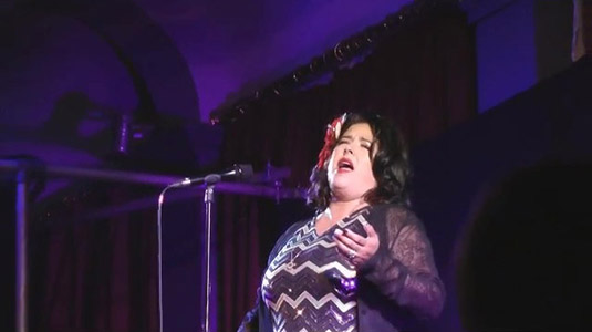Rebekah Del Rio sings No Stars Live at the Twin Peaks UK Festival 2018