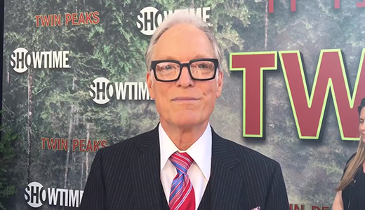 Richard Chamberlain chats top secret 'Twin Peaks' limited series on premiere red carpet