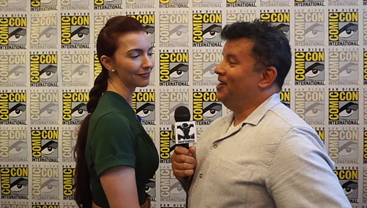 SDCC 2018 Twin Peaks Chrysta Bell - Agent Tammy Preston