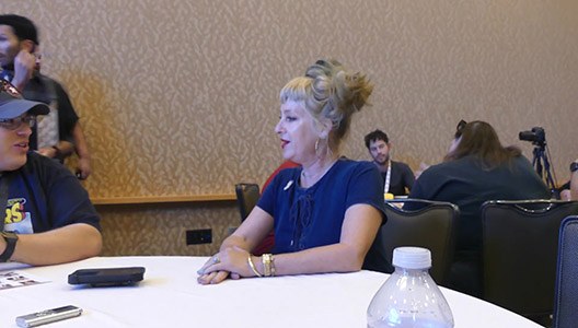 SDCC 2018 - Twin Peaks - Roundtable Kimmy Robertson 1