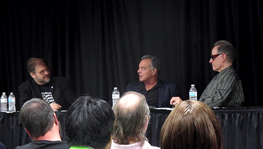 TWIN PEAKS PANEL WITH RAY WISE AND HARRY GOAZ DALLAS COMIC SHOW 2018