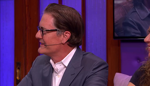 Twin Peaks Agent Dale Cooper in actie - RTL LATE NIGHT