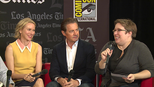 Twin Peaks - Cast Talks About Working With David Lynch - Comic-Con - Los Angeles Times