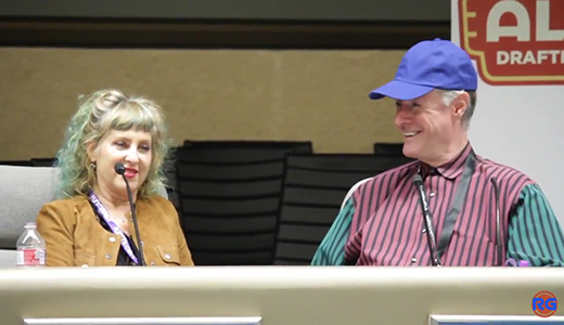 Twin Peaks - Kimmy Robertson and Harry Goaz