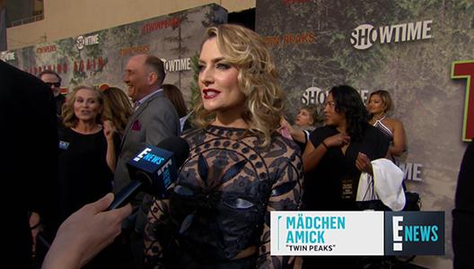 Twin Peaks Stars Gush Over Reuniting Again E Red Carpet & Award Shows