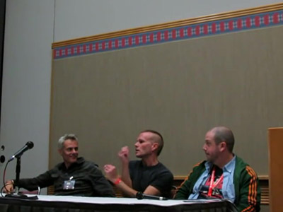 Twin Peaks panel at Living Dead Horror Con 11 14 15 - Portland, OR