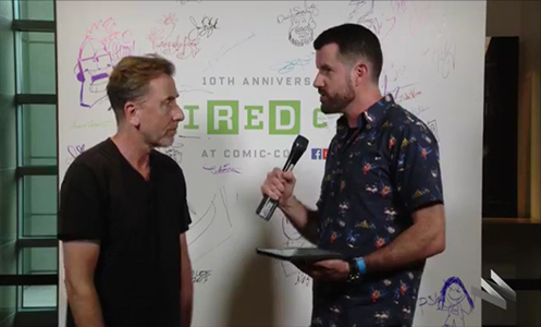 WIRED - We're live at Comic-Con with Tim Roth of Twin Peaks