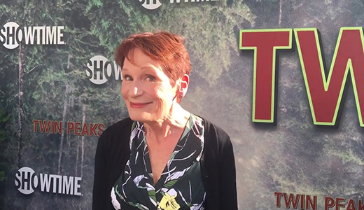 Wendy Robie chats top secret Twin Peaks limited series on premiere red carpet