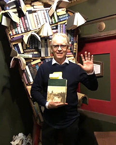 Mark Frost says Hi at The Last Bookstore