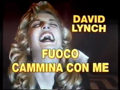 Twin Peaks Fire Walk With Me - FUOCO CAMMINA CON ME - DAVID LYNCH - TRAILER