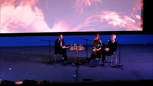 Twin Peaks UK Festival 2014 - Sheryl Lee & Dana Ashbrook Q&A