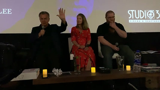 Part of Twin Peaks FWWM Event Q A 3 with Ray Wise and Sheryl Lee