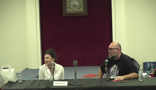 Sherilyn Fenn Panel From Sinister Creature Con Spring