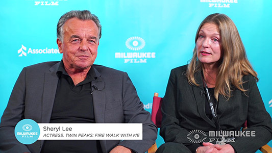 Ray Wise Sheryl Lee and TWIN PEAKS FIRE WALK WITH ME at MFF2019