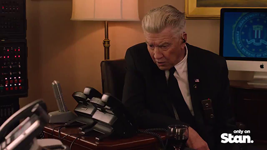 Extended Twin Peaks Trailer As Shown In Theaters Includes Unaired Gordon Cole Clip