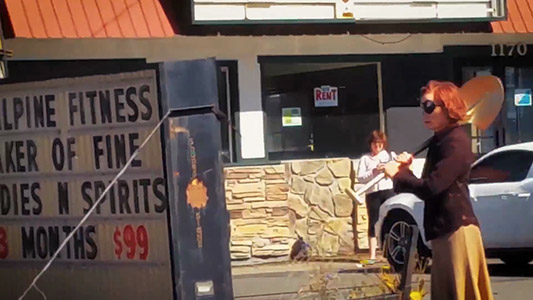 Twin Peaks The Return Behind the scenes Wendy Robie, Everett McGill