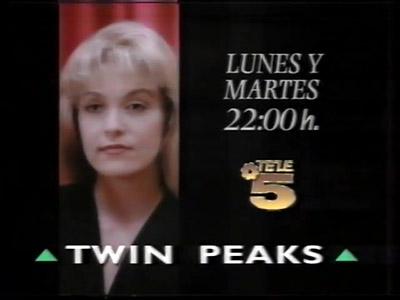 Canale5 - Anuncio Twin Peaks, el desenlace 25 09 1991