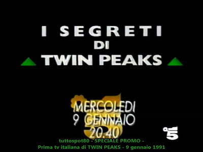 Canale5 - I Segreti di Twin Peaks - 9 Gennaio 1991