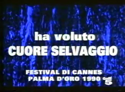 Canale5 - Twin Peaks EXTRA TV Promo Canale5 1991 ITA