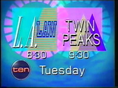 LA Law Twin Peaks 1991