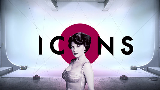 SYFY ICONS Campaign Twin Peaks Example