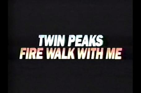 Twin Peaks Fire Walk With Me promo Viewers Choice February 1993