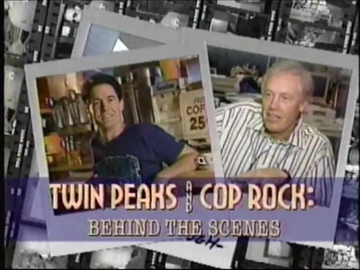 Twin Peaks And Cop Rock - Behind The Scenes Promo - 1990