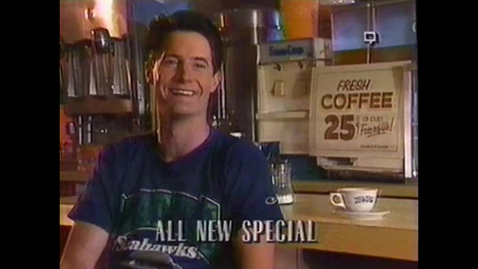 Twin Peaks And Cop Rock Promo - 1990